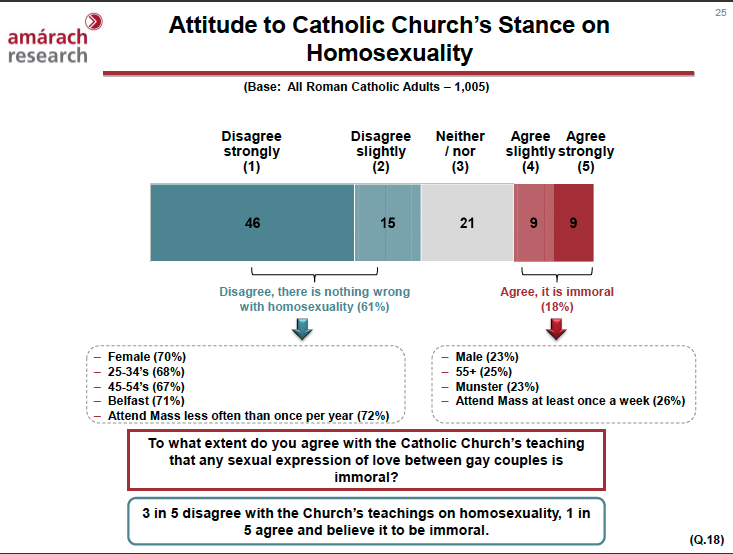 Official catholic position on homosexuality