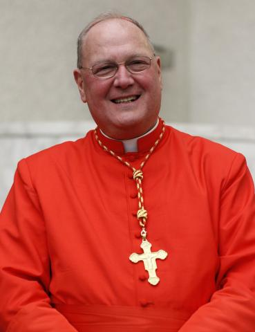 NYC archbishop Timothy Cardinal Dolan