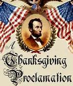 LincolnThanksgivingProclamation