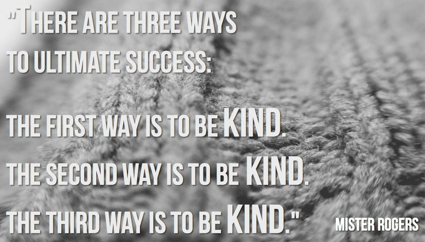 Mister Rogers Success And Kindness Image And Likeness